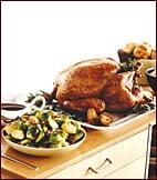 Herb-Roasted Turkey With Maple Gravy
