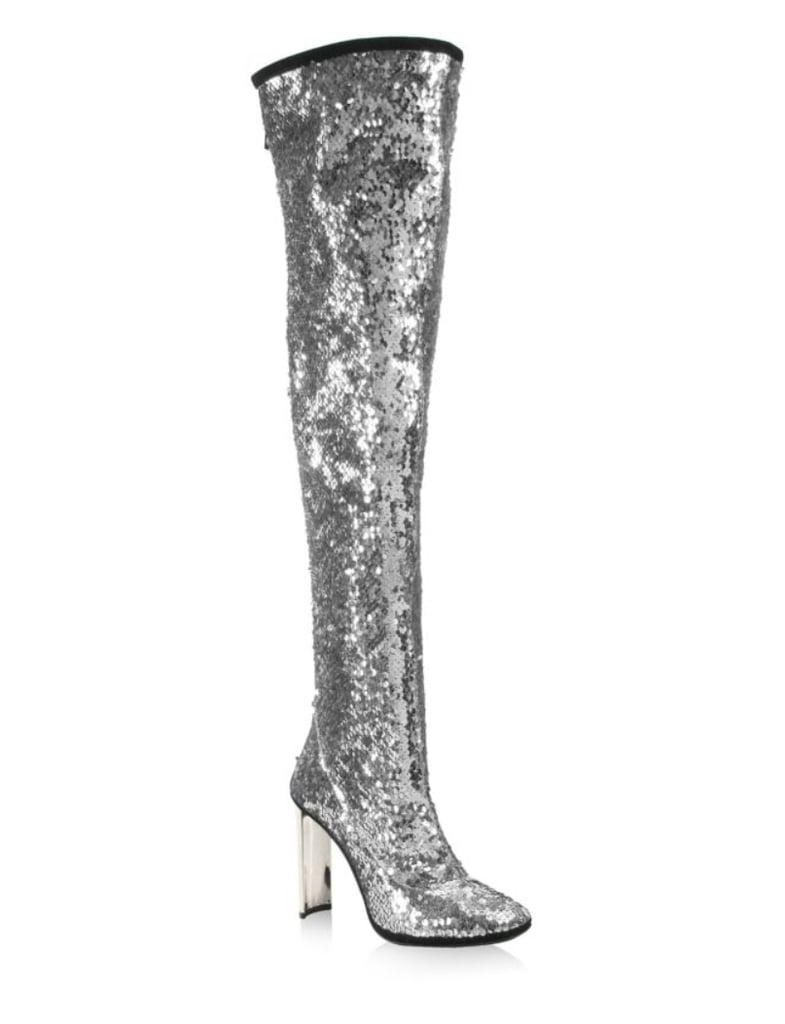 Giuseppe Zanotti Sequin Over-The-Knee Boots