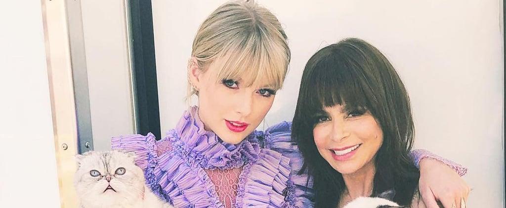 Taylor Swift's Purple Dress at Billboard Music Awards 2019