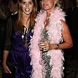 Princess Beatrice and Angie Rutherford