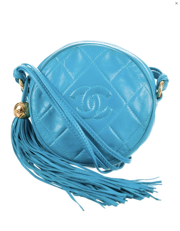 Chanel Quilted Lambskin Circle Bag