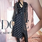 Zendaya TommyxZendaya Polka-Dot Dress at Lancome Event
