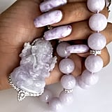 Rihanna's Lavender Jade Nails