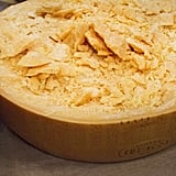 Serve a whole wheel of parmesan cheese during special occasions.