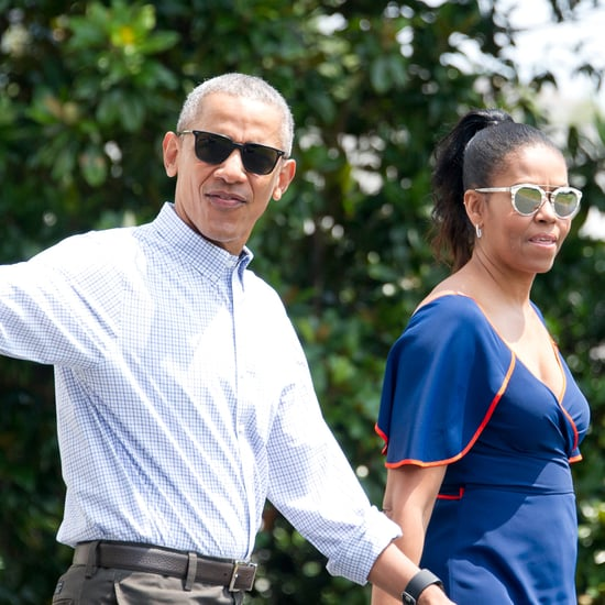 Barack and Michelle Obama on Holiday in Virgin Islands 2017