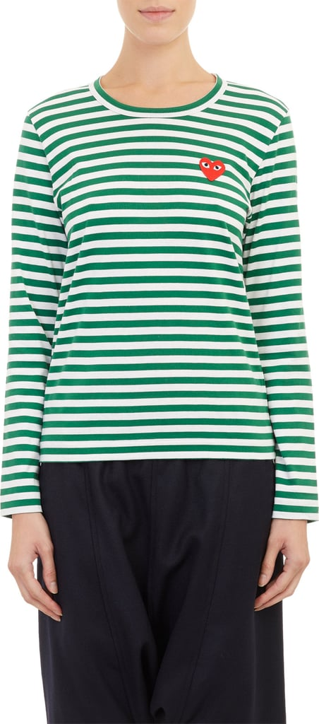 Commes Des Garcons Stripe Long-Sleeved T-Shirt ($158)