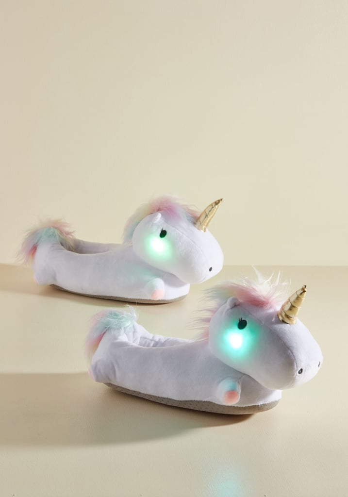 Unicorn Light My Life Slippers