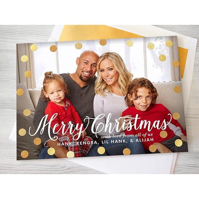 celebrity holiday cards 2015 popsugar celebrity