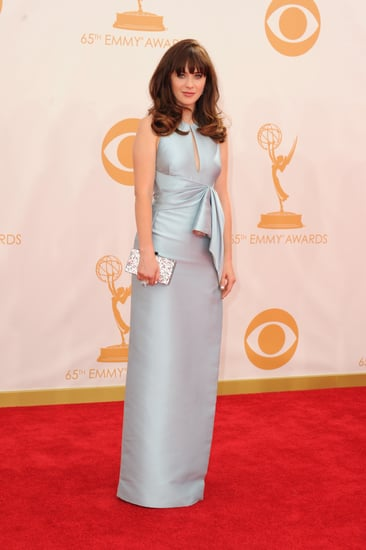New-Girl-Zooey-Deschanel-donned-blue-gown-Emmys