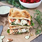 Green Goddess Lobster Sandwich