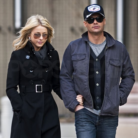Ryan Breaks From New Year's Eve For a City Stroll With Julianne