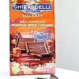 Ghirardelli Milk Chocolate Pumpkin Spice Caramel Squares ($4)