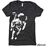 The Women's Astronaut American Apparel T-Shirt ($18) is hand-printed, awesome, and available in 17 colors.