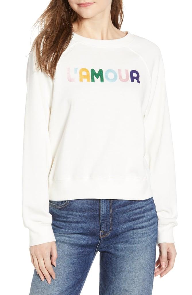 32745272c051b Rebecca Minkoff L Amour Jennings Sweatshirt