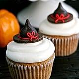 Pumpkin Witch-Hat Cupcakes