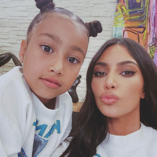 Kim Kardashian Shares North's Painting | TikTok Proof Video