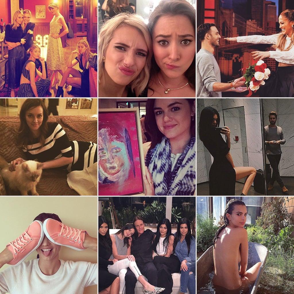 Celebrity Instagram Pictures   Jan. 23, 2015