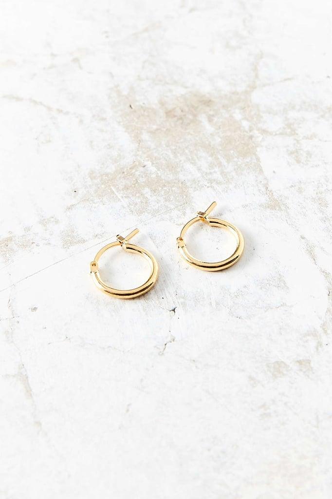 Urban Outfitter's Modern Hoop Earring ($12)