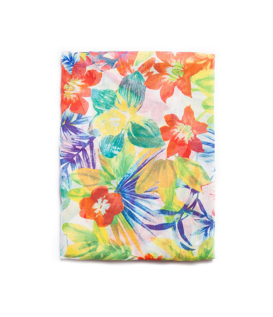 Zara's Multicolored Floral Scarf ($30) is superaffordable while still packing a fun, Summer-ready punch. You can also use it as an eco-friendly way to wrap other gifts for Mom.