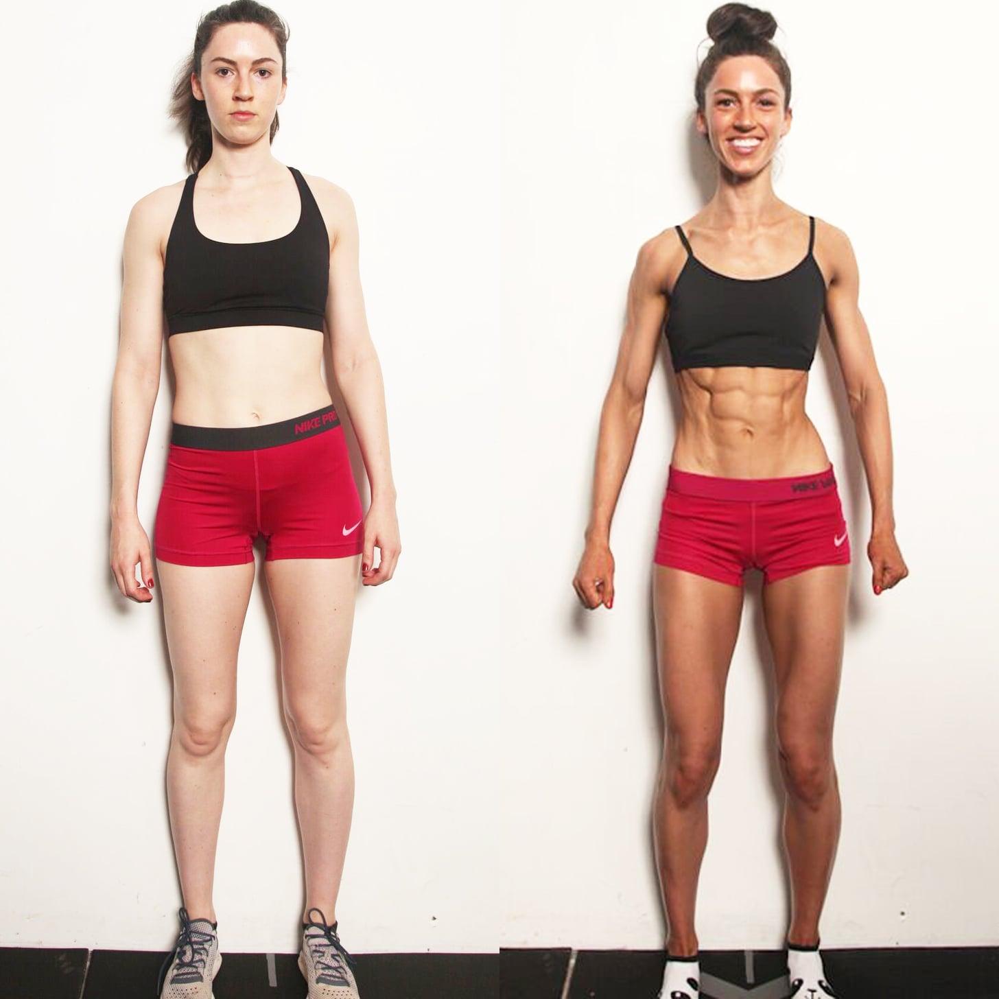 F45 8 Week Challenge Before And After Popsugar Fitness Australia