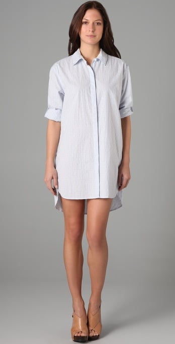 Dkny pure DKNY Dobby Oxford Tunic ($160)