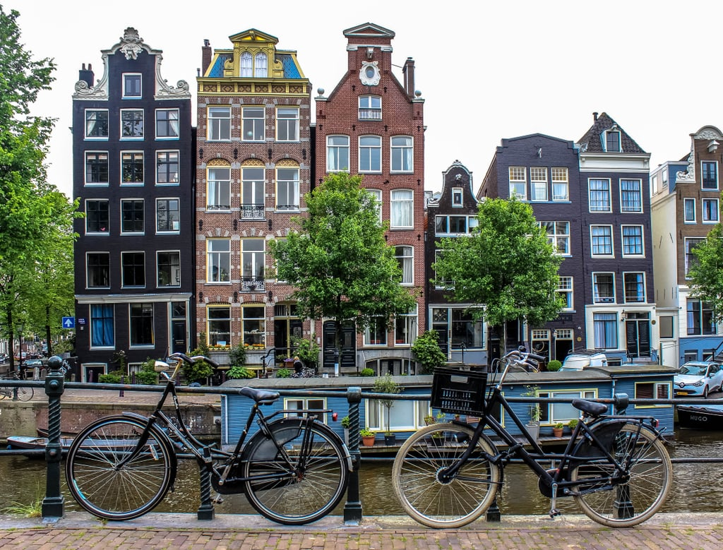 With over 800,00 bikes scattered along the streets, Amsterdam is easily Europe's busiest cycling city. In fact, did you know there are more bikes here than there are people? That said, make sure that when you are zipping around on your own two wheels (or even walking around) to always be aware of your surroundings.