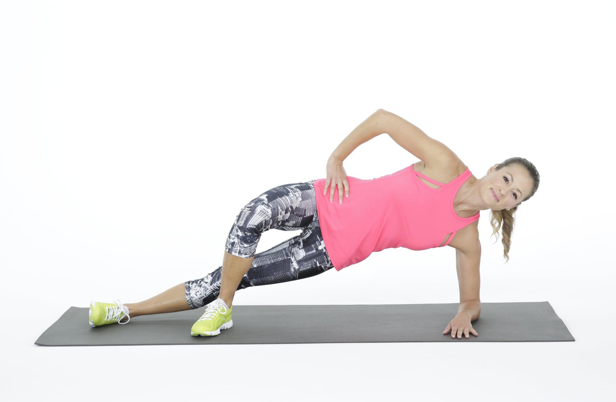 How To Do A Side Bridge And Modification Popsugar Fitness