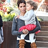 Pictures of Halle Berry and Nahla Aubry Together in LA