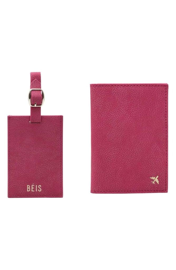 75014fc19 Beis Travel Luggage Tag   Passport Holder Set