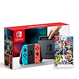 Nintendo Switch Game + Nyko Charging Case Bundle
