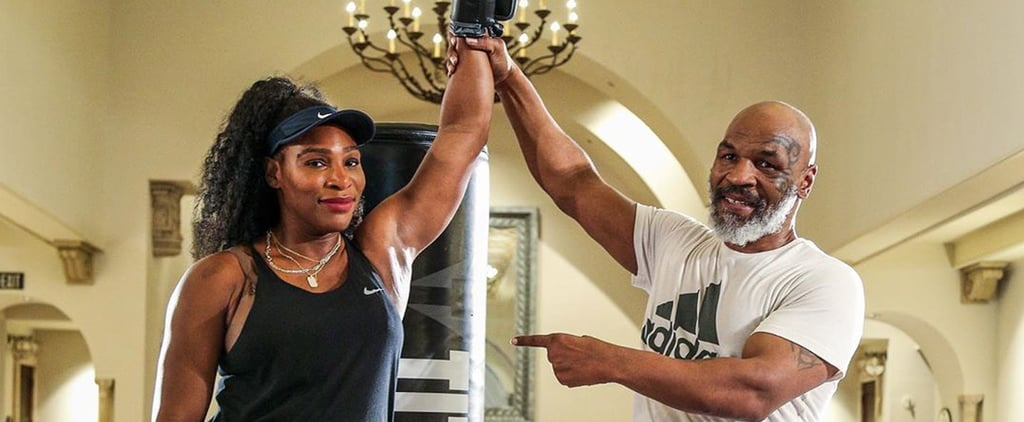 Watch Serena Williams Get a Boxing Lesson From Mike Tyson