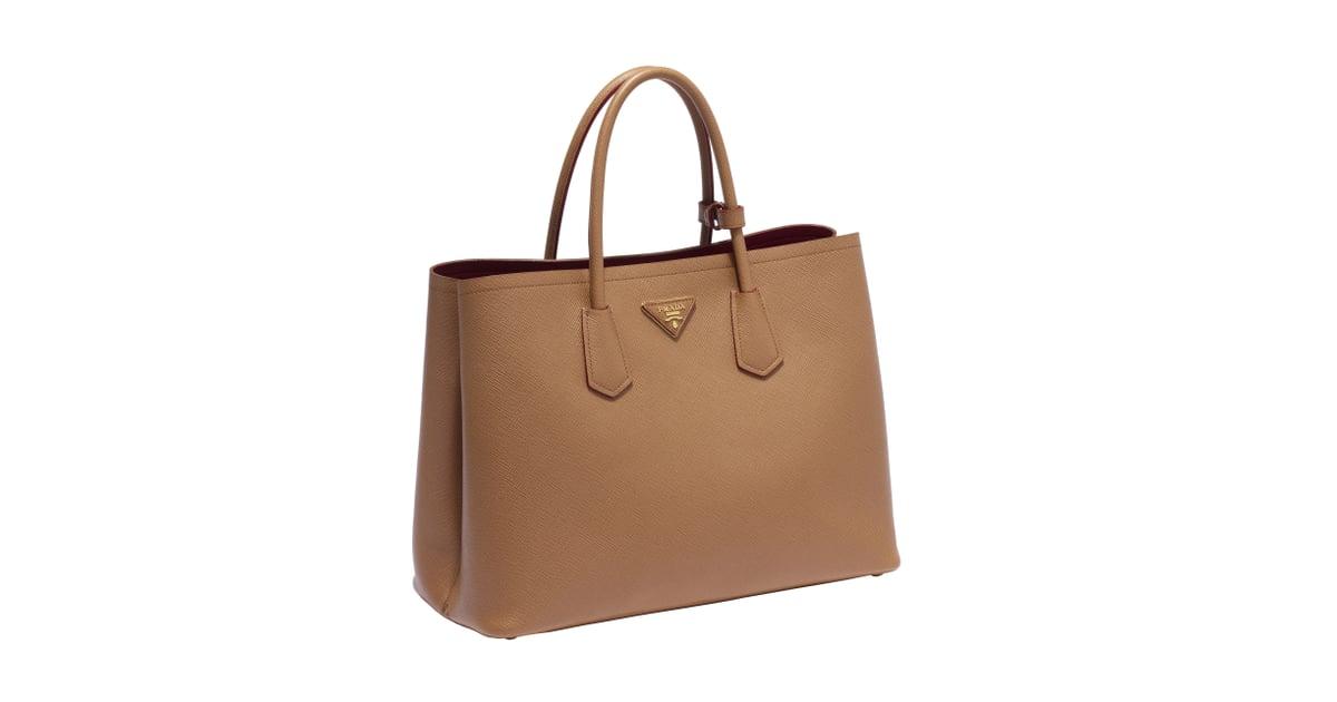 13f9c0872105e8 ... 50% off prada double bag in caramel prada double bag review popsugar  fashion photo 3