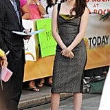 Kristen Stewart Lands in NYC and Reports to the Today Show