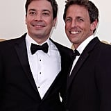 Jimmy Fallon and Seth Meyers