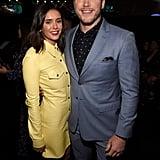 Nina Dobrev and Chris Pratt