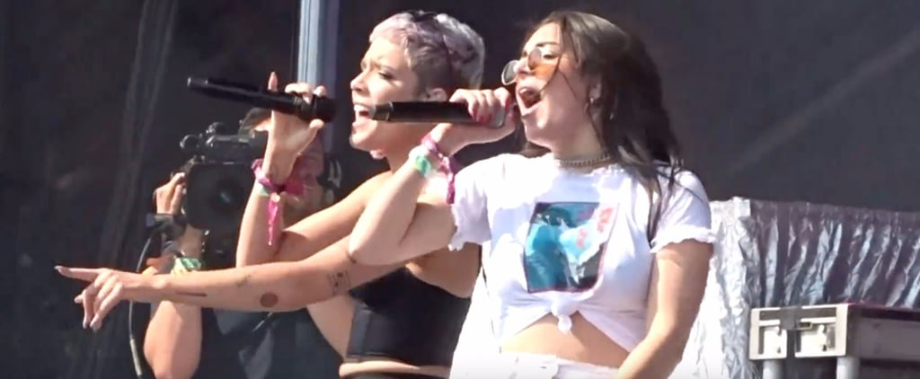 """Charli XCX and Halsey's Spice Girls """"Wannabe"""" Cover"""