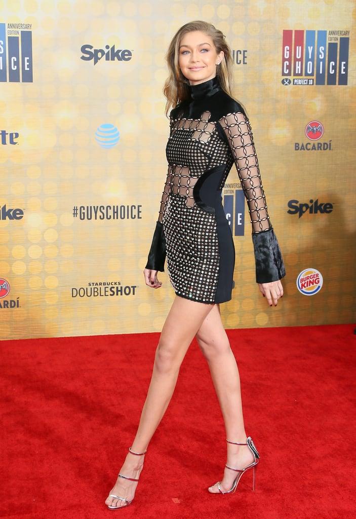 Gigi Hadid's David Koma Dress at Guys Choice Awards 2016