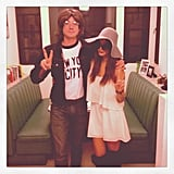Jamie Chung and Bryan Greenberg were the perfect John and Yoko. Source: Instagram user jjchung415