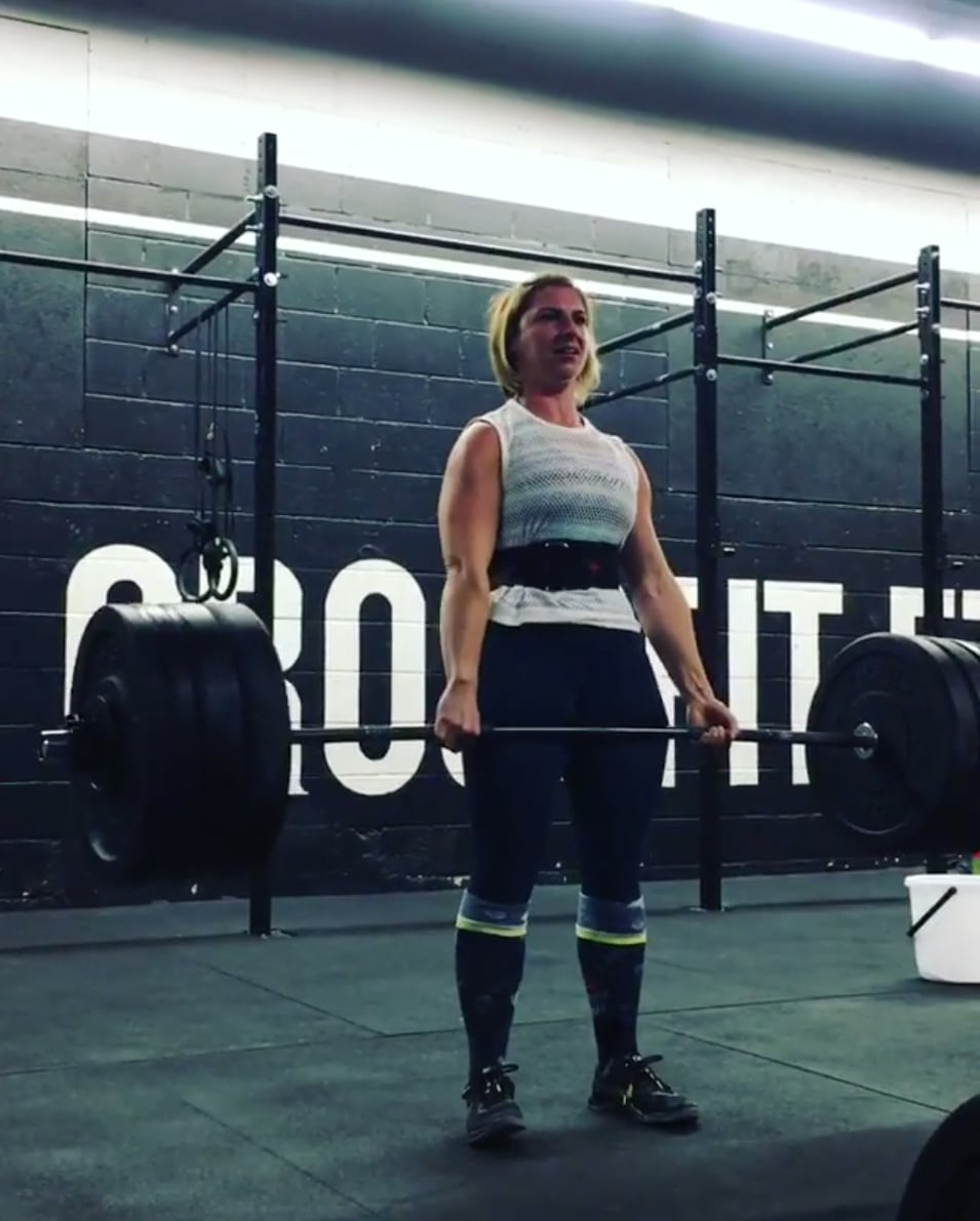 Crossfit transformation popsugar fitness for crossfit was to lose weight so this was pretty discouraging i understood the whole muscle weighs more than fat saying but i wasnt feeling ccuart Image collections
