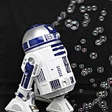 Jazz up any party with the help of the Star Wars R2-D2 Bubble-Blowing Machine ($90).