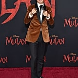 Jimmy Wong at the World Premiere of Mulan in LA