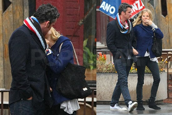 Photos of Sienna Miller and Balthazar Getty Kissing in NYC