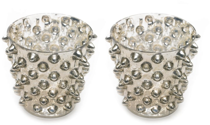 Studded Votive ($19 for set of 2)