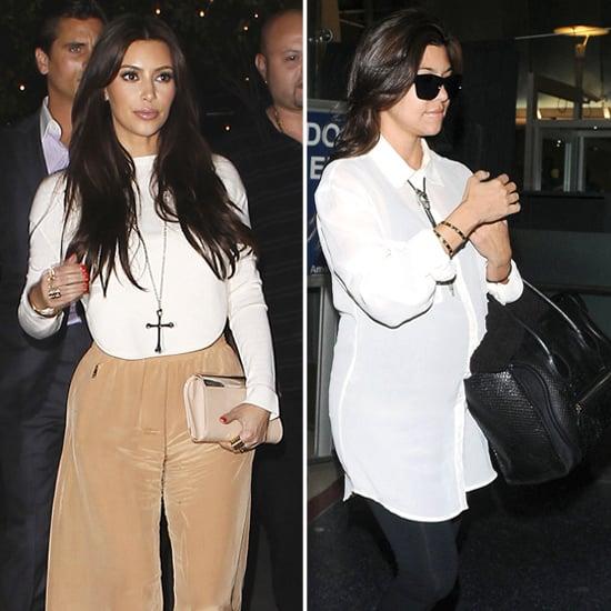 Shop Kim and Kourtney Kardashian's Cross and Western Necklaces