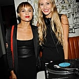 Zoë Kravitz and Harley Viera-Newton kept the party going through the night at the Vogue and H&M event.