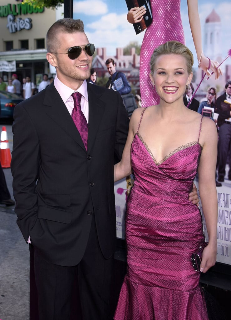 The two were tickled pink at the Legally Blonde premiere in June 2001.