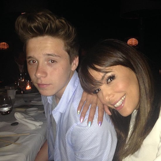 Brooklyn Beckham With Famous Friends