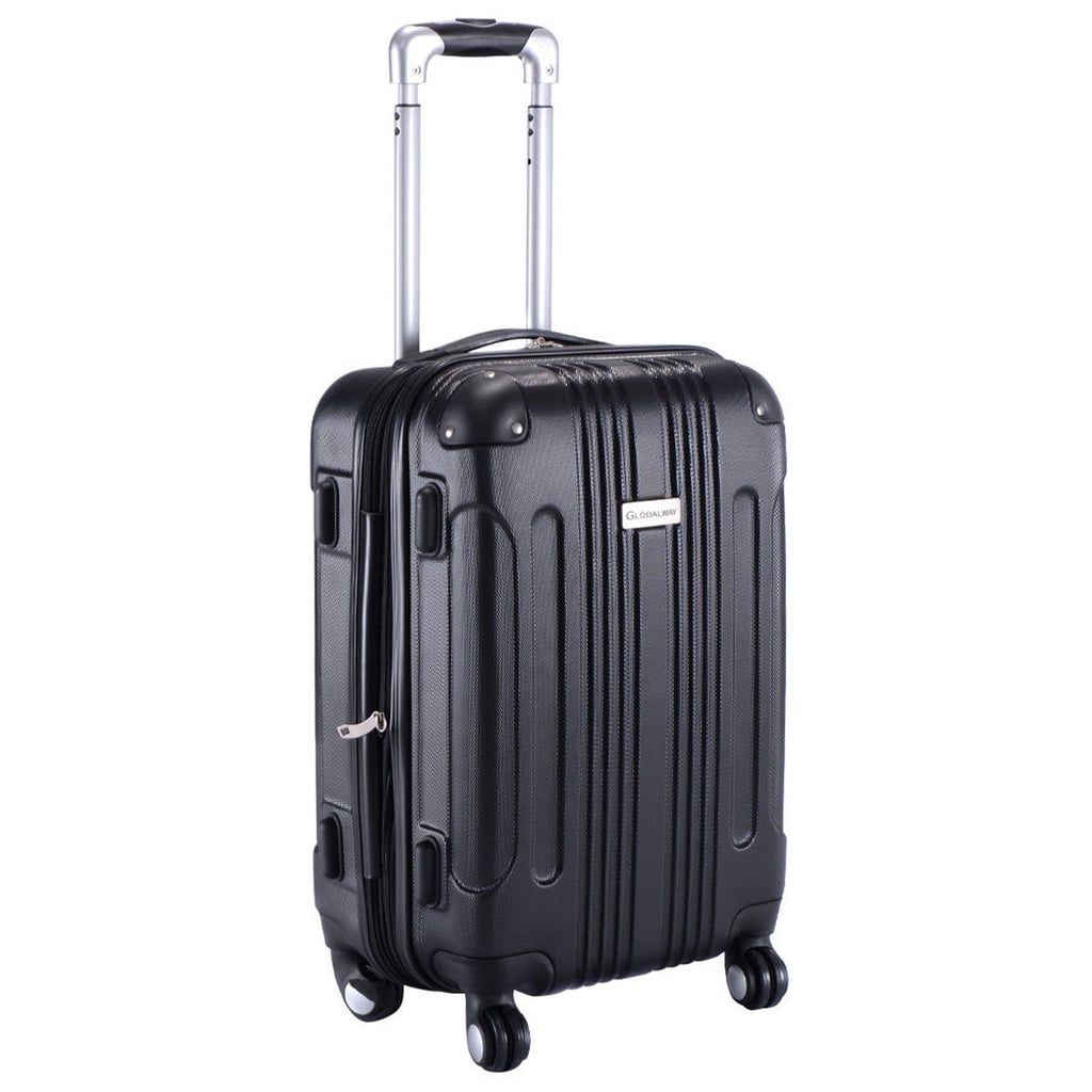 Globalway Expandable 20'' ABS Carry on Suitcase