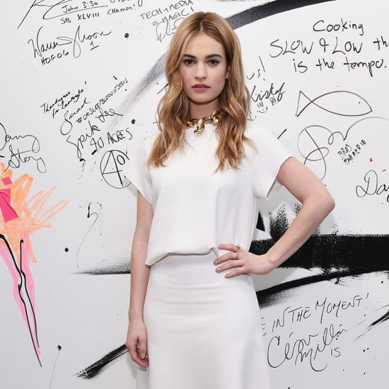 Lily James's Style