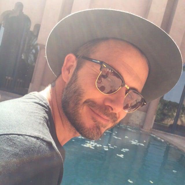 David Beckham Instagram Account